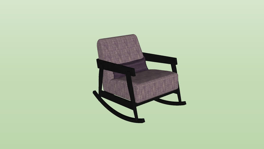 Paola Navone - Brick 307 Rocking Chair