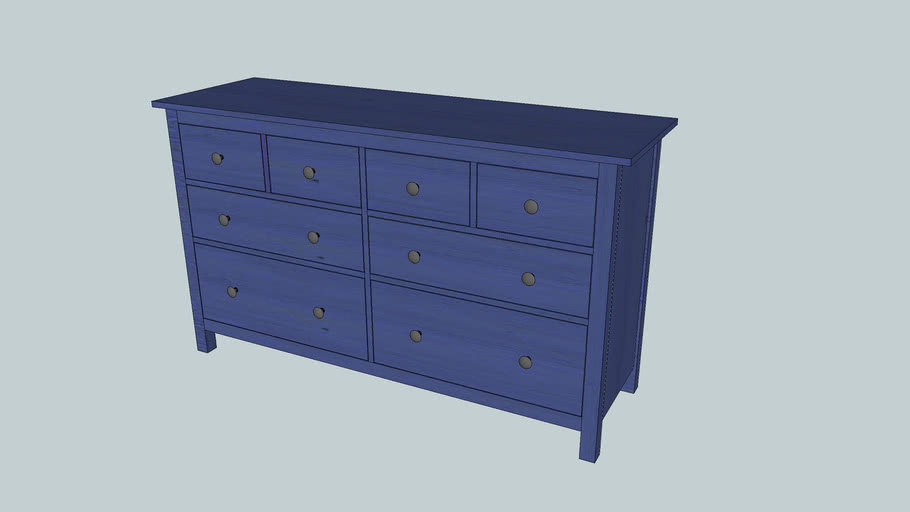 20+ Blue Chest Of Drawers PNG