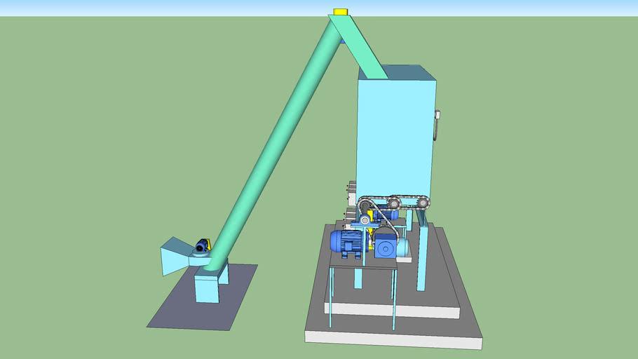 Metering Bin Complete