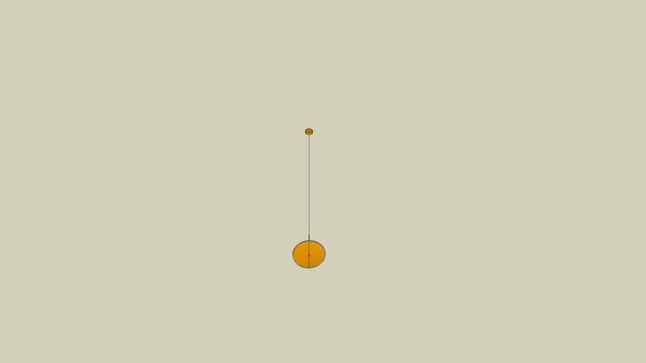 PENDENTE DISC - PE-110/18.40BRO