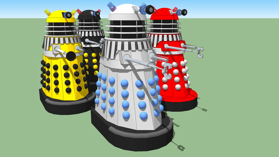 "Dalek: 1966 ""Daleks' Invasion Earth: 2150 A.D."" Movie Daleks"