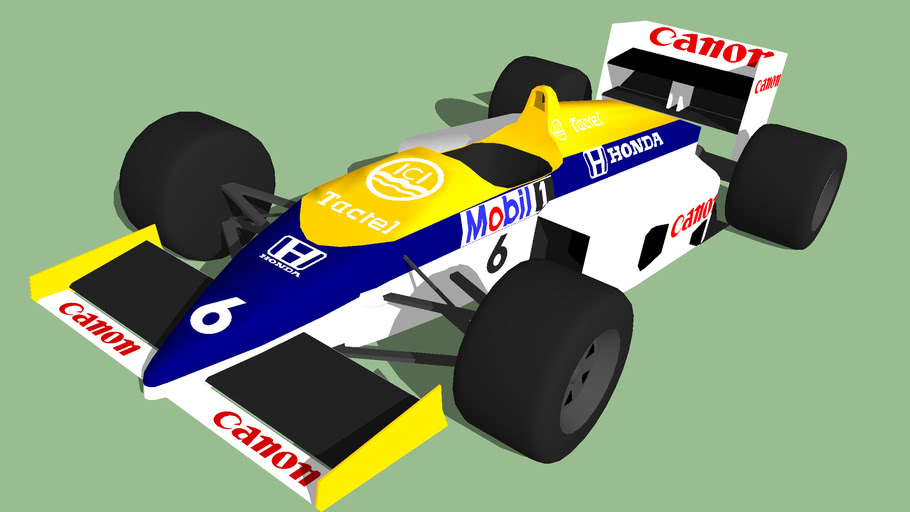 1986 Williams FW11 F1 car