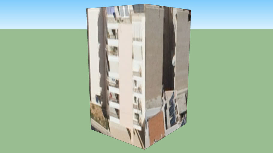 Building in Drapetsona, Greece