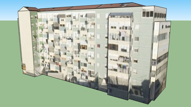 Building in Lisbon, Portugal