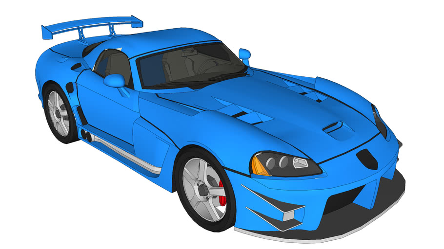 Tuned Dodge Viper SRT