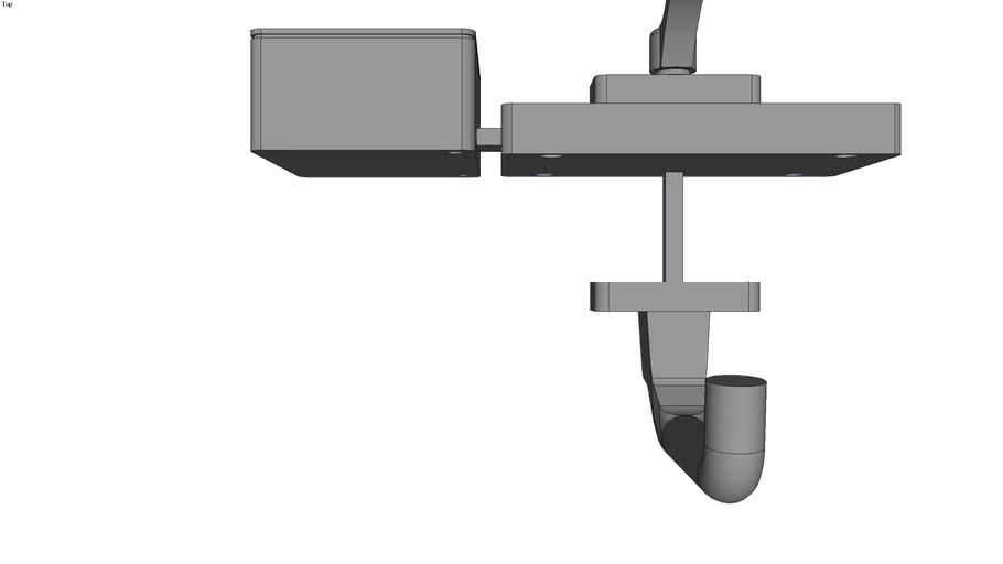 actuator with emergency handle