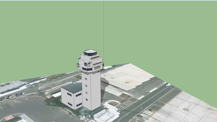 Airport Reina Sofia Control Tower