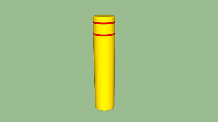 R-7155 Plastic Post Cover