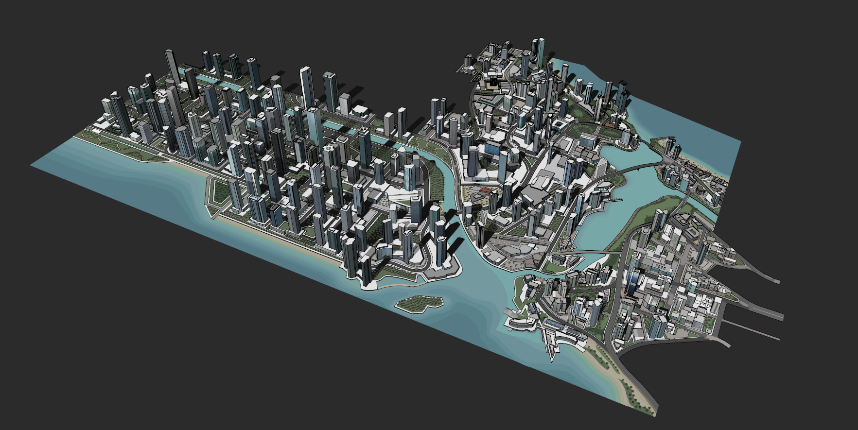 The LARGEST CITY in SketchUp