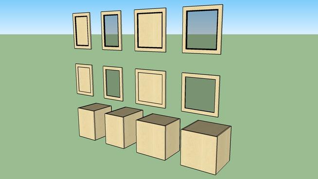 """Cabinets Plus - 24""""H Uppers_w 1-door_152_18-24"""