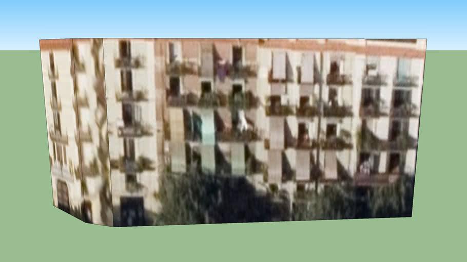 Gebäude in Barcelona, Block B
