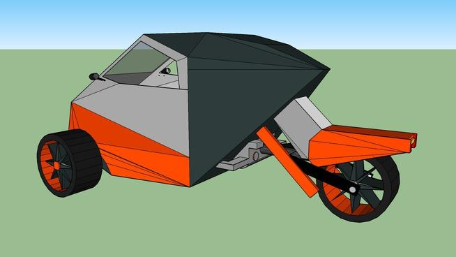 3 wheel buggy/ car