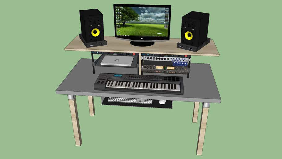 Fonkelnieuw Home Studio Desk | 3D Warehouse UD-52