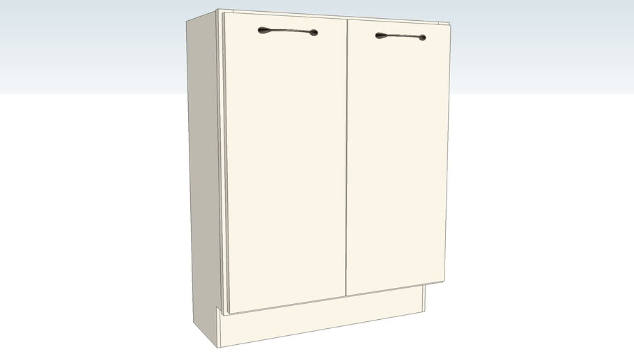 Base Double Door Full Height - 12D