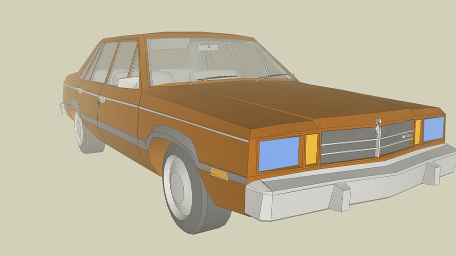 1987 Lincoln Continental SE Sedan