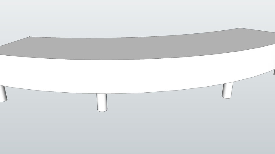 Classica Curved Bench