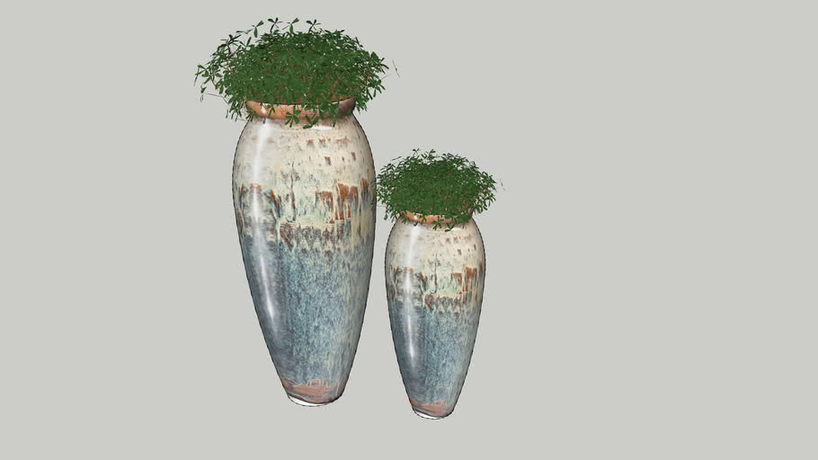 Vaso com planta