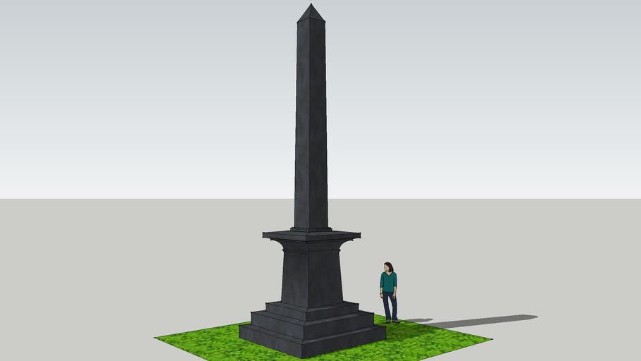 Civil War Obelisk, Chicago, Illinois