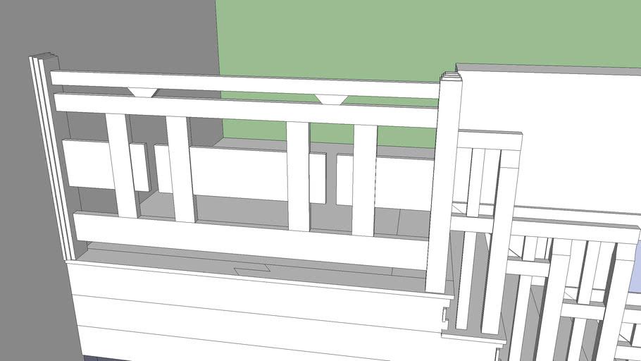 Greene and Greene Style Staircase