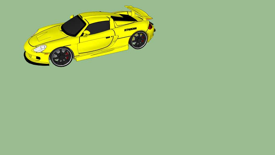 Porsche redesignée