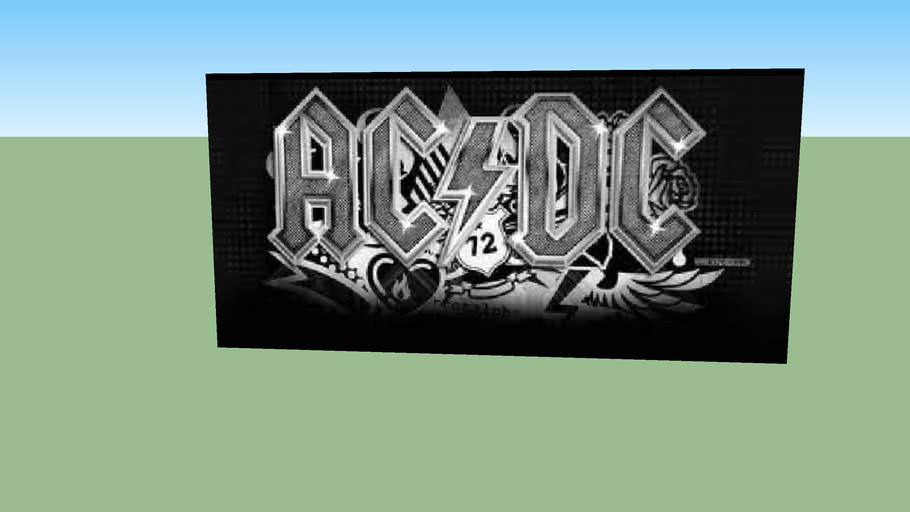 Ac-Dc Poster