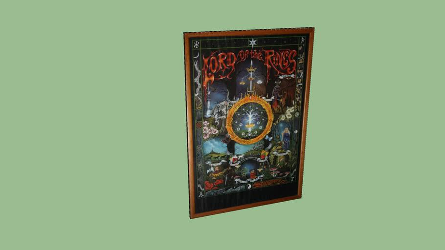 Poster del señor de los anillos