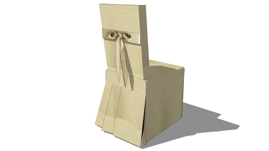 Housse lin noeud MARGAUX, Maisons du monde, ref: 116.280, prix : 39 €