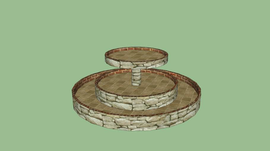 Fountain (waterless)