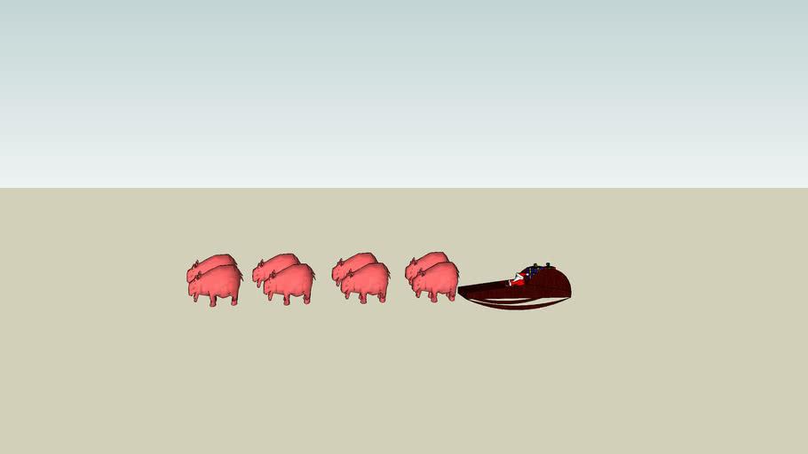 hippo sled