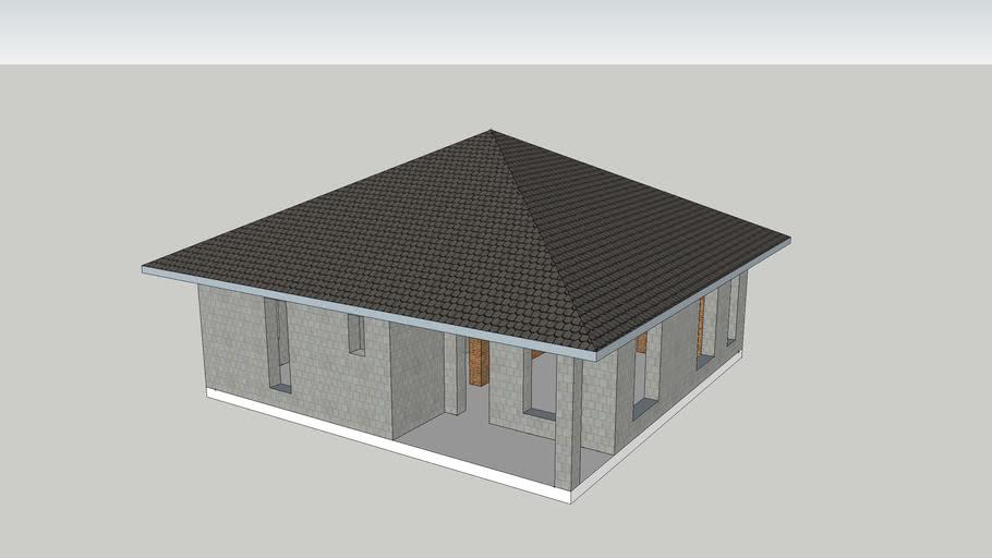 House 10.7*10.7m