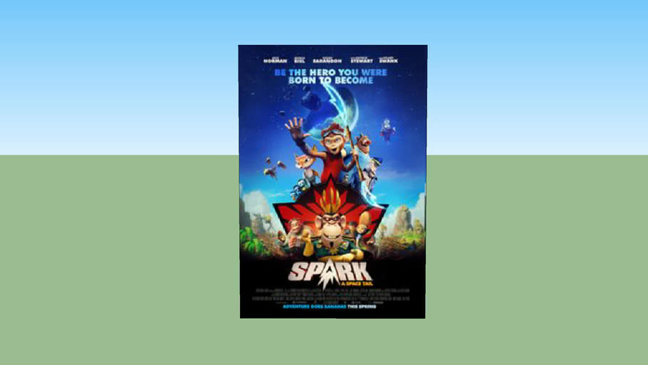 Spark A Space Tail Poster 3d Warehouse