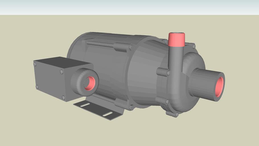 Centrifugal Pumps Series 5.5 - Model TE-5.5S-MD-3PH-XP