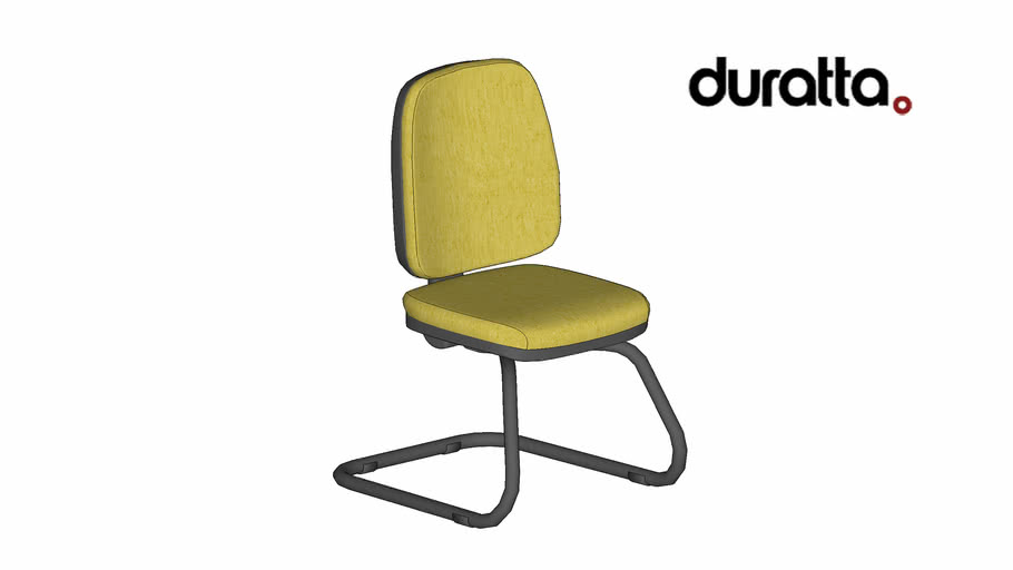 Cadeira Next Alta Fixa sem Braço