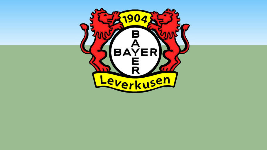 logo football Bayer Leverkusen