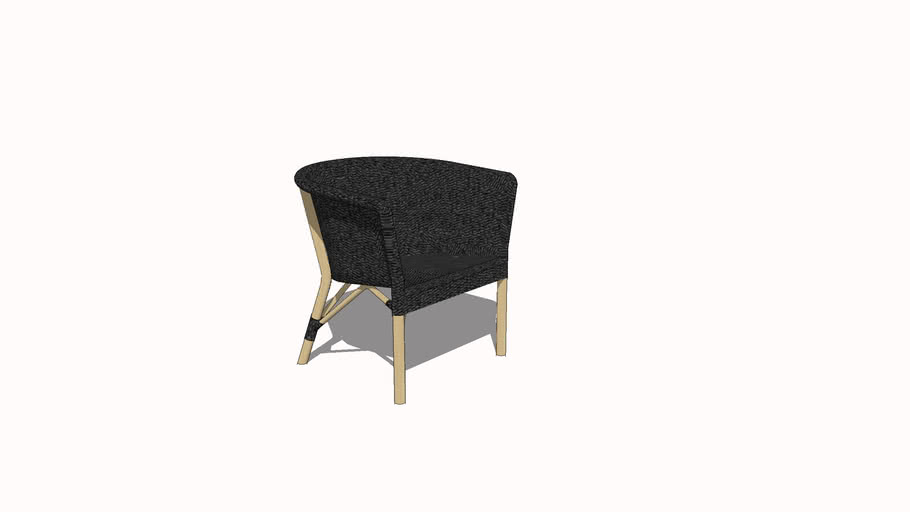 Piero Lissoni Cassis Wicker Arm Chair