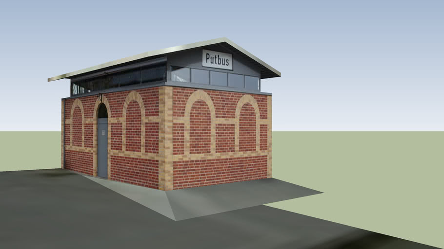Bahnhofstoilette Putbus