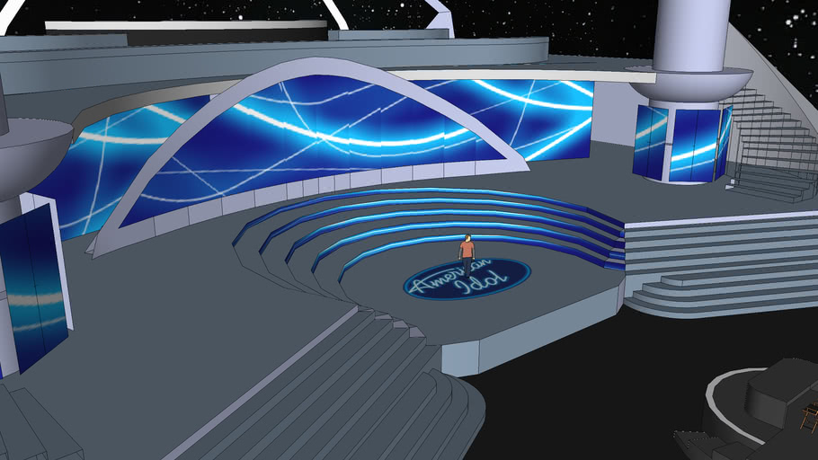 American idol stage set 2