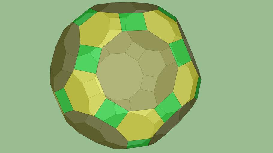 Icosidodecaedro Truncado