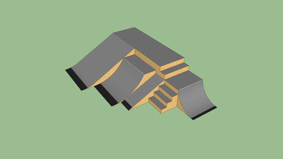 Skatepark Corner Piece