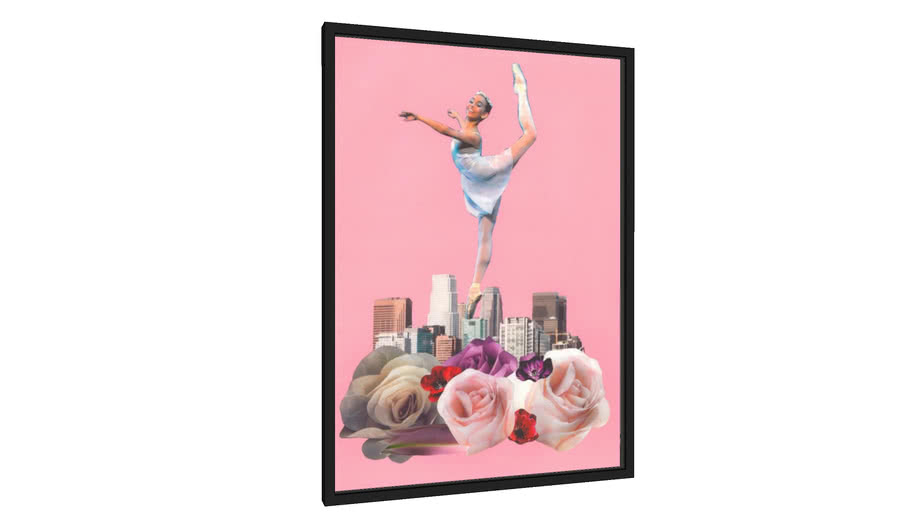 Quadro Ballerina - Galeria9, por Lidy Araujo