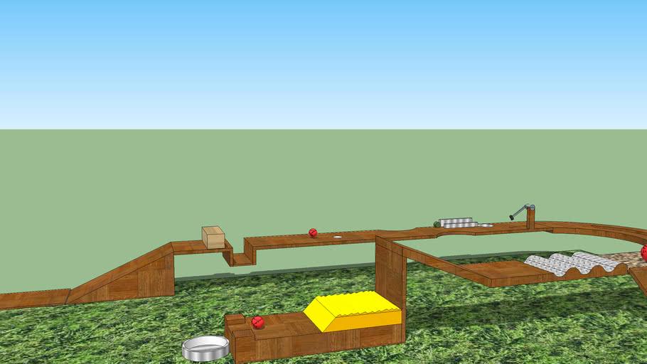 Prelim Robotic Event Arena For Spandan12 At Knmiet 3d Warehouse
