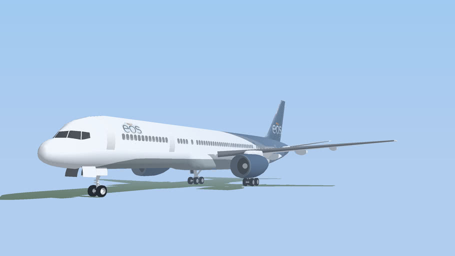 EOS Airlines Boeing 757-200 {EDITED 2x; 2Mb}