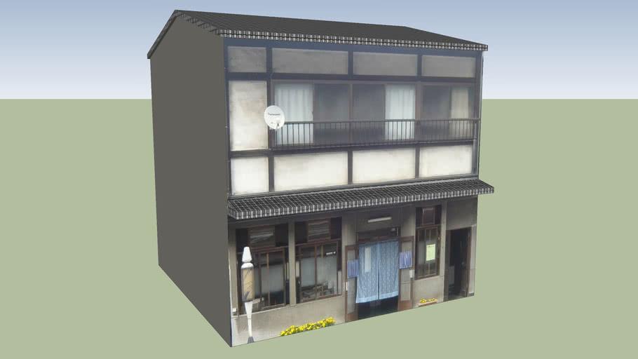 日光商店街 床屋 栃木県日光市