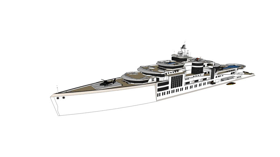 Mega yacht LORD VADER