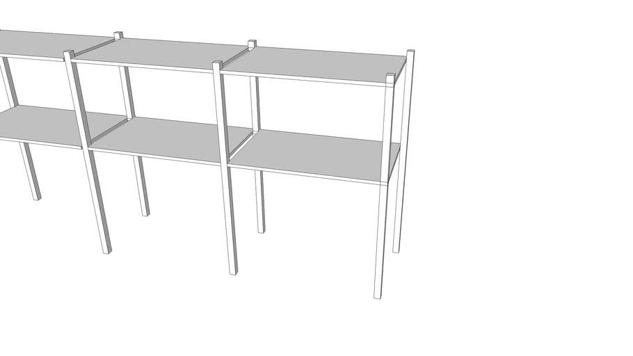 furniture-basement box shelf