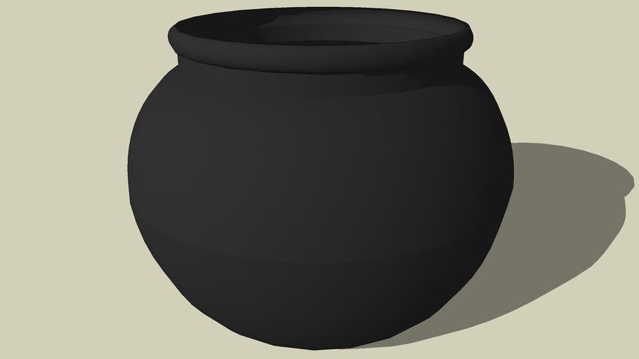 Basic Black Cauldron