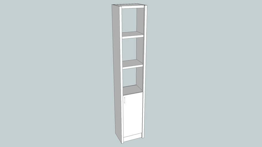 Librero Ibiza 36 cms puerta izq
