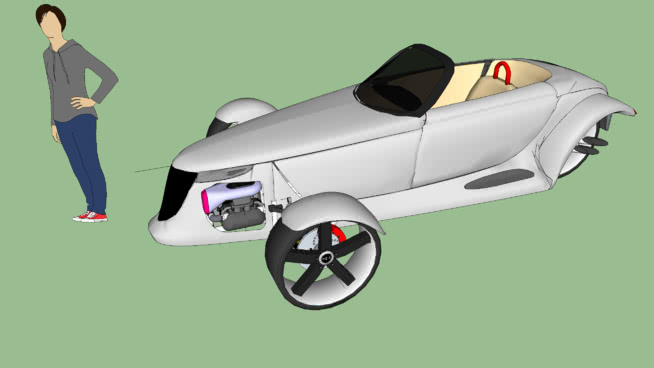 Prowler Autocycle Reverse Trike Case Study 98