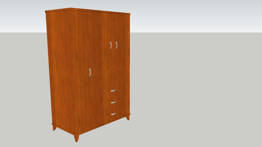 Storage (2 doors, 1 long door, 3 drawer)