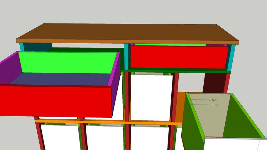 COMICBOOK storage drawers 123